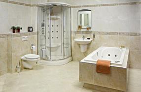 Heerlijk comfortabel badderen in uw eigen badkamer? Lekker douchen ...